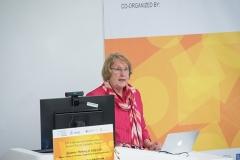 Dr. Anne S. McKnight presenting her Keynote Speech on May 17, 2019