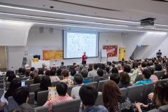 Ms. Kathleen K. Wiseman presenting her Keynote Speech on May 18, 2019.